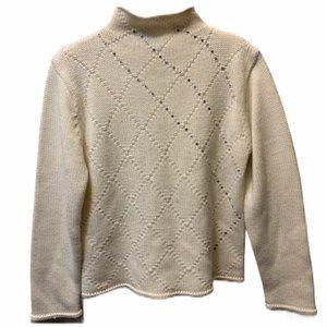 JESSICA Sequinned Turtleneck Sweater
